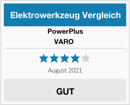 PowerPlus VARO  Test
