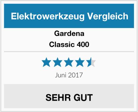 Gardena Classic 400 Test