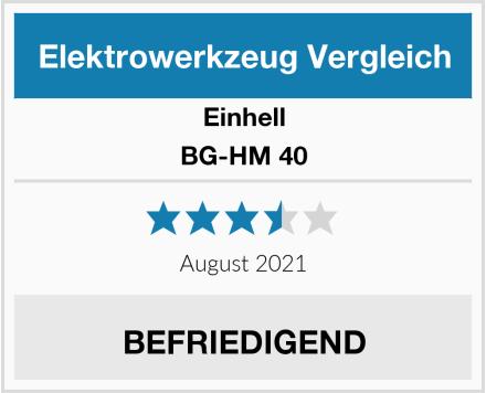 Einhell BG-HM 40 Test