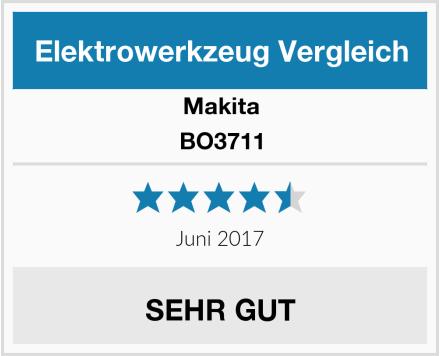 Makita BO3711 Test