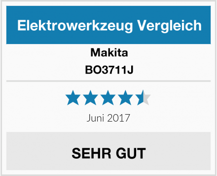 Makita BO3711J Test