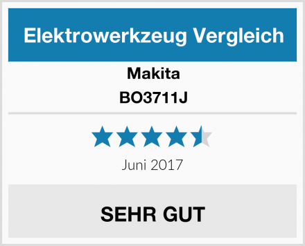 Makita BO3711J Test