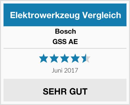 Bosch GSS AE Test