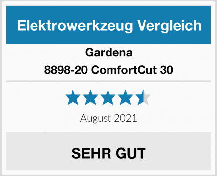 Gardena 8898-20 ComfortCut 30 Test