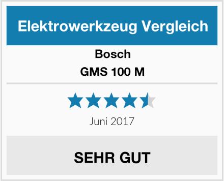 Bosch GMS 100 M Test
