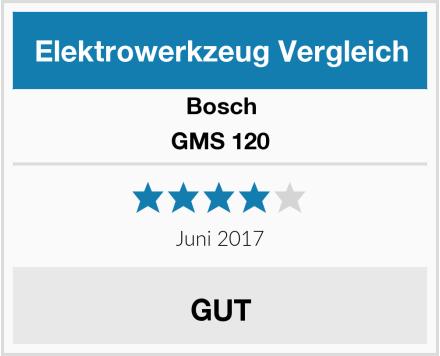 Bosch GMS 120 Test