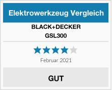 Black & Decker GSL300 Test