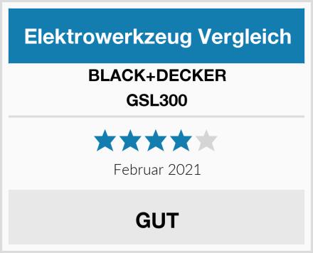 BLACK+DECKER GSL300 Test