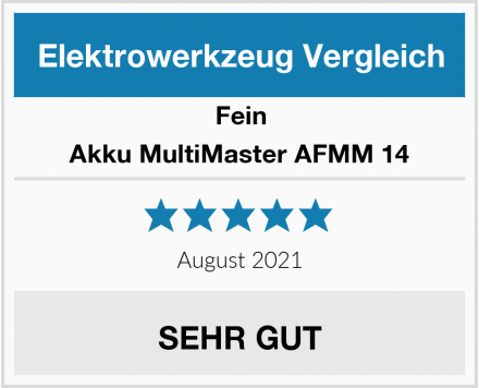 Fein Akku MultiMaster AFMM 14 Test