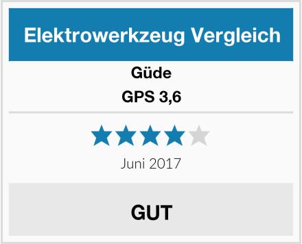 Güde GPS 3,6 Test