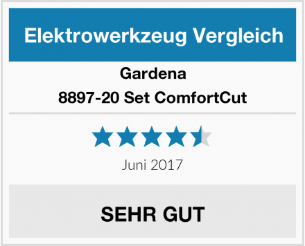 Gardena 8897-20 Set ComfortCut Test