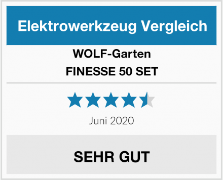 WOLF-Garten FINESSE 50 SET Test
