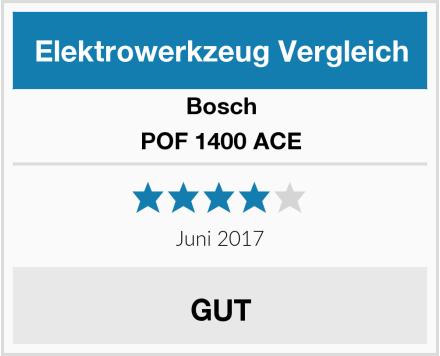 Bosch POF 1400 ACE Test