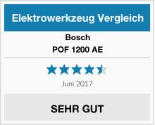 Bosch POF 1200 AE Test
