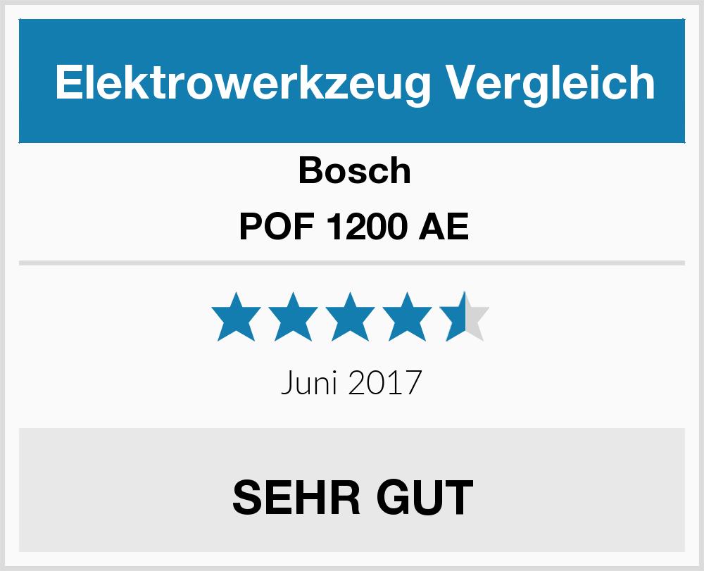 bosch pof 1200 ae elektrowerkzeug test 2018