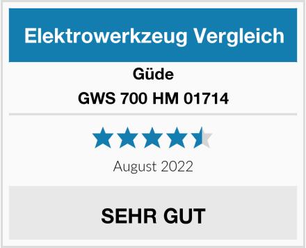 Güde GWS 700 HM 01714 Test