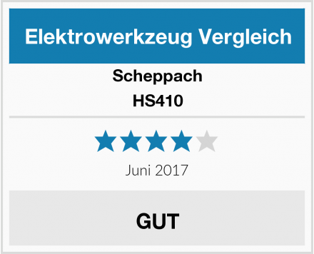Scheppach HS410 Test