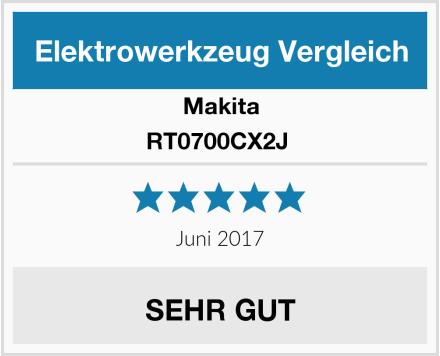 Makita RT0700CX2J  Test