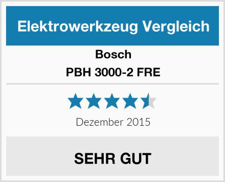 Bosch PBH 3000-2 FRE Test