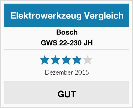 Bosch GWS 22-230 JH Test