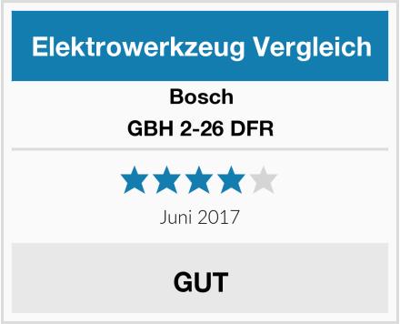 Bosch GBH 2-26 DFR Test