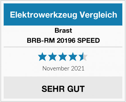 Brast BRB-RM 20196 SPEED Test