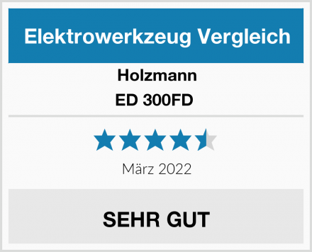 Holzmann ED 300FD  Test
