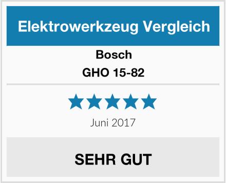 Bosch GHO 15-82 Test