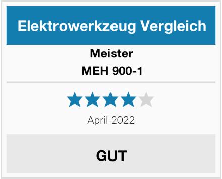 Meister MEH 900-1 Test