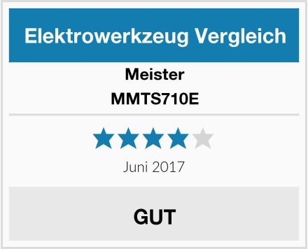 Meister MMTS710E Test