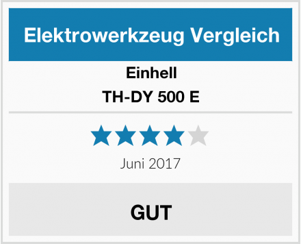 Einhell TH-DY 500 E Test