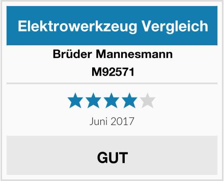 Brüder Mannesmann M92571 Test