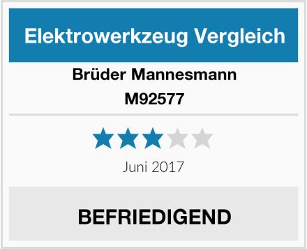Brüder Mannesmann M92577 Test