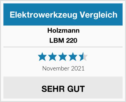 Holzmann LBM 220 Test