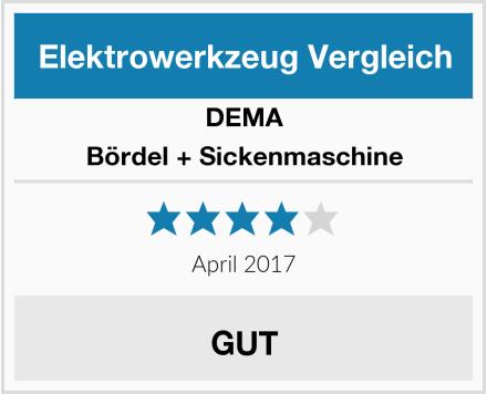 DEMA Bördel + Sickenmaschine Test