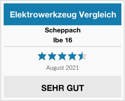 Scheppach lbe 16 Test