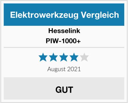 Hesselink PIW-1000+  Test