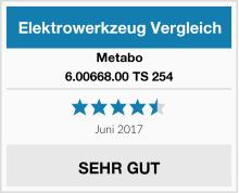 Metabo 6.00668.00 TS 254 Test