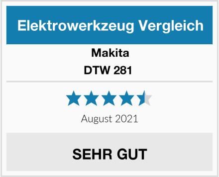 Makita DTW 281  Test