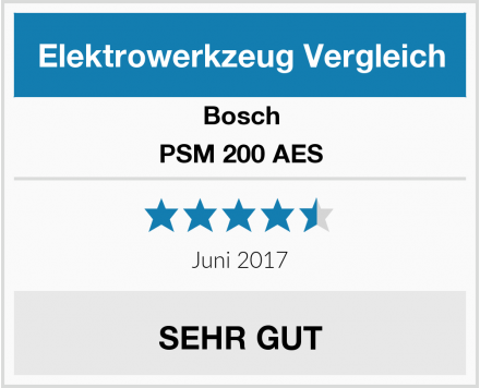 Bosch PSM 200 AES Test