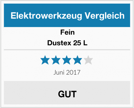 Fein Dustex 25 L Test