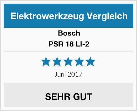 Bosch PSR 18 LI-2 Test