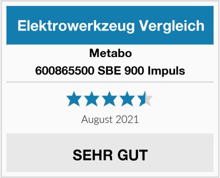 Metabo 600865500 SBE 900 Impuls Test