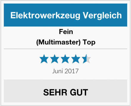 Fein (Multimaster) Top Test