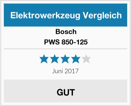 Bosch PWS 850-125 Test