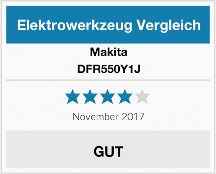 Makita DFR550Y1J Test