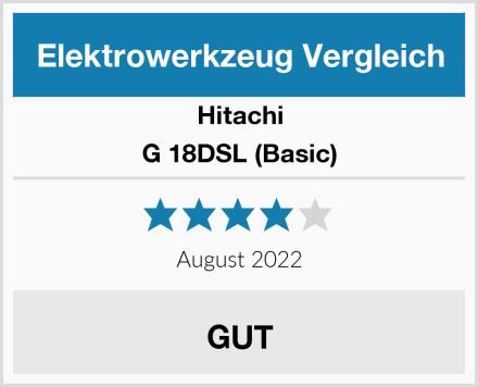Hitachi G 18DSL (Basic) Test