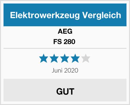 AEG FS 280  Test