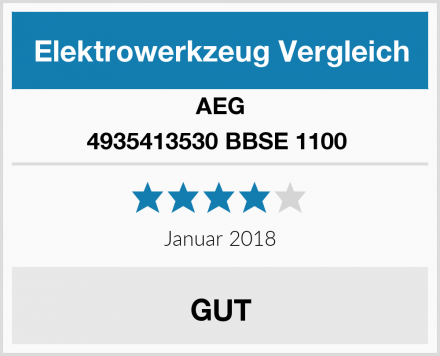 AEG 4935413530 BBSE 1100  Test