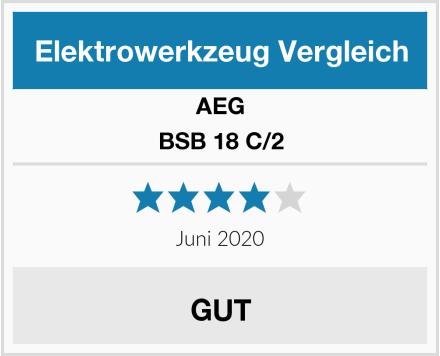 AEG BSB 18 C/2 Test
